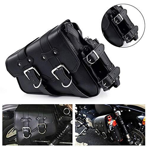 Mochila bolsa de moto de la motocicleta Vespa Bolsa de herramientas Saddlebag lado izquierdo solo equipaje de la motocicleta y de combustible líquido sostenedor de la botella Givi Sportster Motociclet