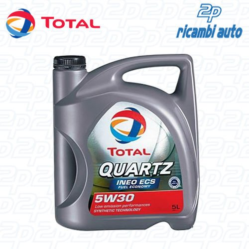 Aceite de motor para coche Total Quartz Ineo Ecs 5W30 5l