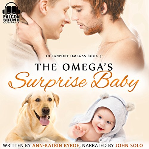 The Omega's Surprise Baby audiobook cover art