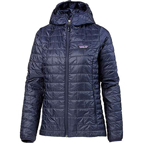 Patagonia Damen W's Nano Puff Hoody Jacket, Klassisch Marineblau, S