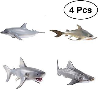 der aus Wasser mit seinem offenen Mund springt Atmungsaktives Kissenh/üllen mit Rei/ßverschluss Baumwollen und Polyester CiCiDi Seitenschl/äferkissen Kissen-Bezug 40x145 cm Wei/ßer Hai