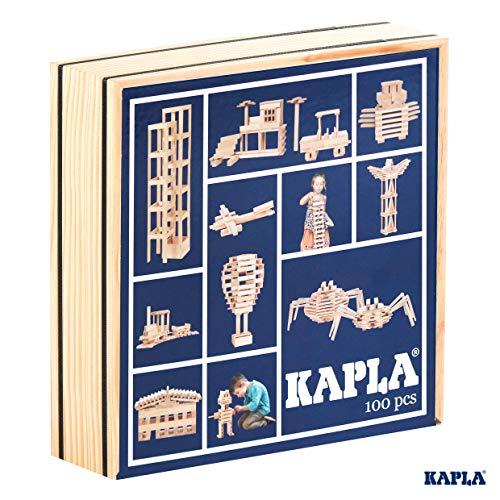Kapla 100er Box Original Holz Bausteine Plättchen Klötze - 2