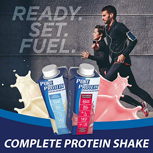 Premier Protein 30g Protein Shake, Chocolate, 14 Fl Oz (Pack of 12) bottle