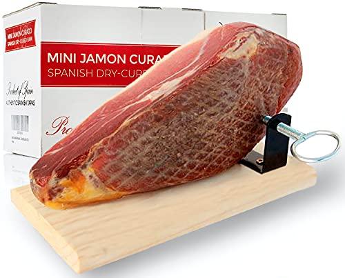 Jamón Curado Deshuesado Version Mini de 1 Kg Jamonprive - (SOPORTE JAMONERO NO INCLUÍDO)