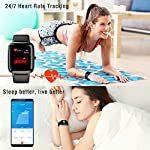 Fashion Shopping Blackview Smart Watch for Android Phones and iOS Phones, All-Day