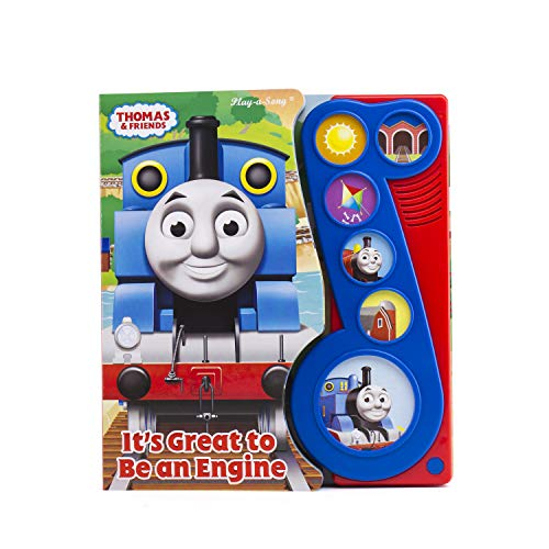 Thomas & Friends - It's Great to Be an Engine Little Music Note Sound Book - PI Kids