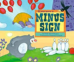 if you were a minus sign - subtraction strategy book