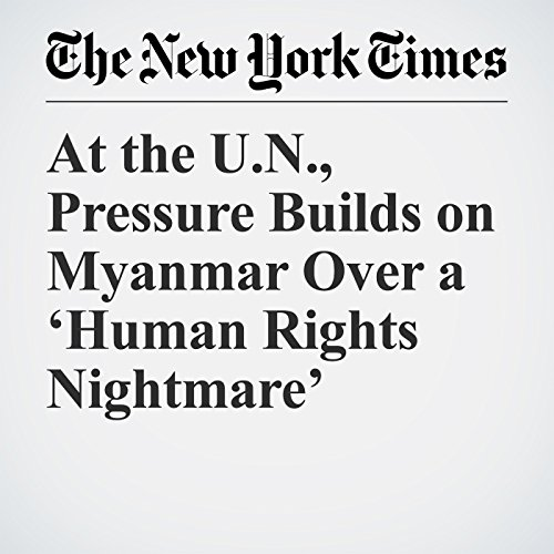 At the U.N., Pressure Builds on Myanmar Over a 'Human Rights Nightmare' copertina