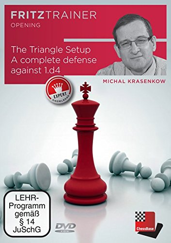 Michal Krasenkov: The Triangle Setup. A complete defense against 1.d4: Fritztrainer - Interaktives Video-Schachtraining