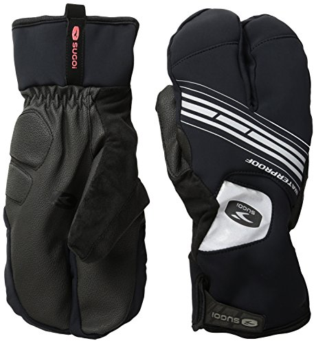 Sugoi Zap Subzero Split Handschuh, Unisex, U917500UBLK1, Schwarz, xs