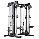 ATX® Smith Cable Rack - Plate Load Multipresse - Duo-Zugapparat (Scheibenaufnahme 30 mm)