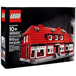 © 2012 The LEGO Group / Amazon.co.jp - LEGO  Ole Kirk's House 4000007 (オーレ・キアク・クリスチャンセンの家)