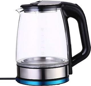 غلاية كهربائية زجاج من فلامنجوFM-4003 - 2.2 لتر، اسود