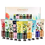Ownest 10 Pack Plant Fragrance Hand Cream Moisturizing Hand Care Cream Travel Gift Set,For Men And Women-30ml