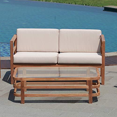 Teako Design salontafel Pusiano teak massief houten tafel houten tafel teakhouten tafel teakhouten tuintafel tuinmeubelen tuingereedschap