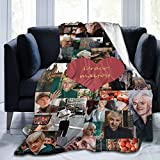 FOWHY Draco-Malfoy Blanket Micro Fleece Throw Blanket Soft Cozy Blankets for Bed Couch Living Room 40 X 50 Inch