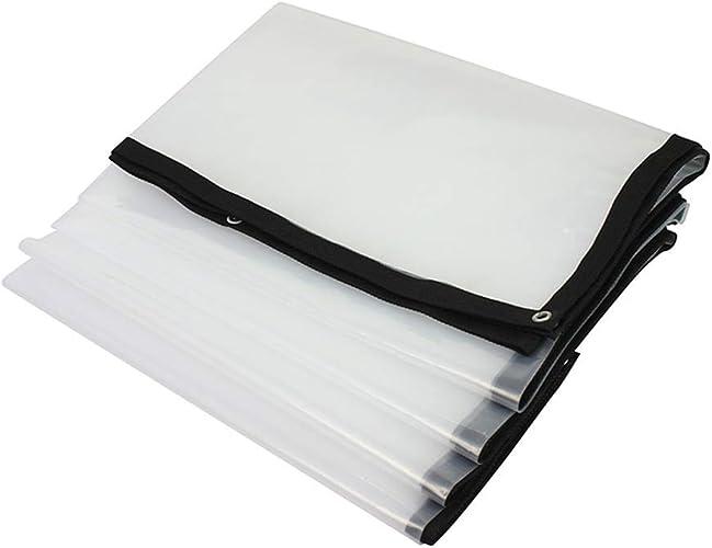 Toile Prougeectrice Pour Moustiquaire écran Solaire Film Imperméable en Plastique Transparent Imperméable en Plastique, Plusieurs Tailles Disponibles, WenMing Yue, Clair, 3X10m