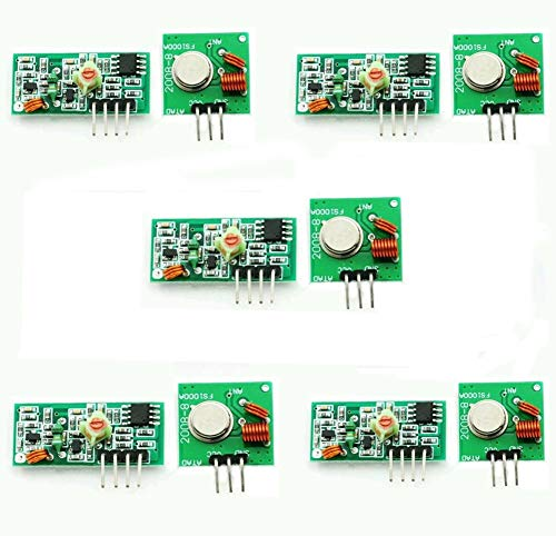 ARCELI 5 stücke 433 MHz RF Sender und Empfänger Link Kit für Arduino