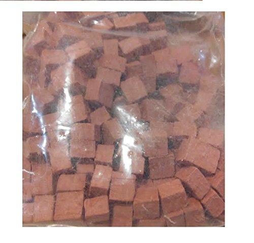 CUIT 2970K. 1 kg sac carré en terre cuite pierre 8mm x 8mm. Des modèles spéciaux de pierre