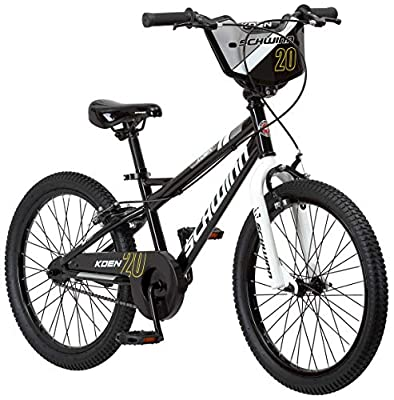 Schwinn Koen Boys Bike for Toddlers and Kids, 20-Inch Wheels, Black