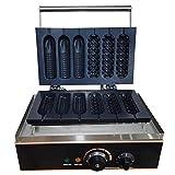 Romyix - Chupete eléctrico para gofrera (6 unidades, 1500 W, 6 unidades)