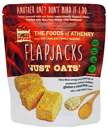 Foods of Athenry Flapjacks Just Oats, 5.5 Ounce
