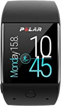 Polar M600 Fitness Tracker Smart Watch with 6 LED Optical HR Sensor - Black