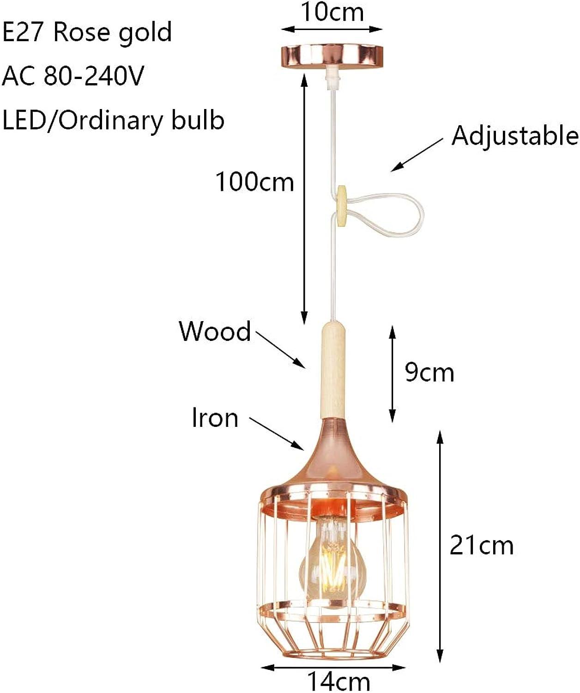 Moderne eisen überzogen kreative roséGold pendelleuchte E27 220 v LED hngende leuchte restaurant schlafzimmer wohnzimmer flur bar