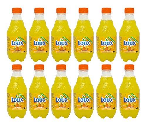 Loux Orangeade mit 20% Fruchtsaftgehalt, 12 x 0,33 l Flaschen