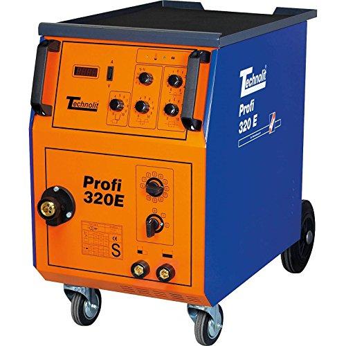 TECHNOLIT Profi 320 E Schutzgasschweißanlage Schweißgerät inkl. Schlauchpaket