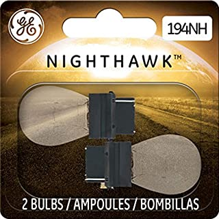 GE Lighting 194NH/BP2 Nighthawk Replacement Bulbs, 2-Pack