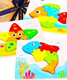 Jaques of London Let's Play Animal Puzzles Under the Sea Theme – Perfect
