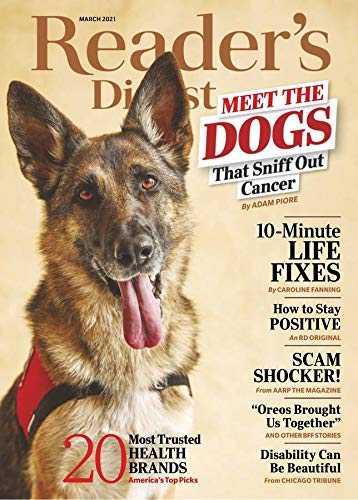 12 months (10 issues) Reader's Digest Print Magazine, $5, Amazon