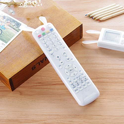 Dynamovolition Kaninchen Klimaanlage TV Fernbedienung Staubschutzhülle mit leuchtender transparenter Silikon Fernbedienung Schutzhülle