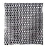 dalliy Custom Metall Duschvorhang Polyester 167cm x 183cm, Polyester, D, 168 x 183 cm