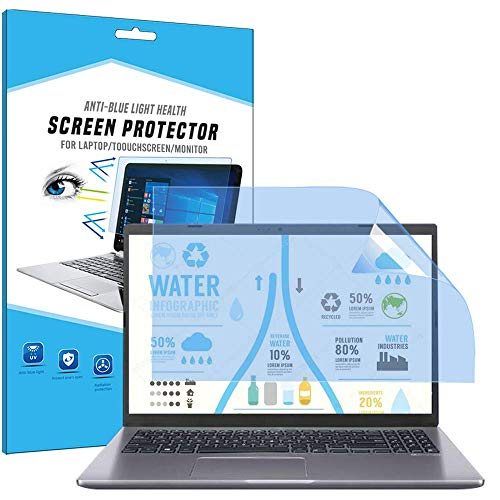 FiiMoo 14' Laptop Anti luz Azul Protector de Pantalla, Filtro Anti Deslumbrante Protección para Los Ojos Protector de Pantalla para 14 Inch Ordenador Portátil (2 Pack)