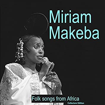 Folk Songs from Africa (Collectors Edition)