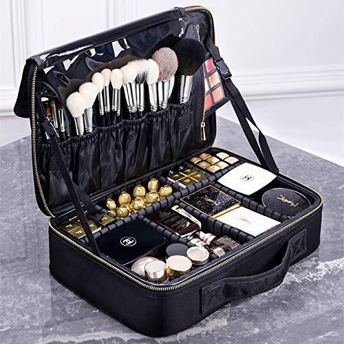 Travel Makeup Case,Chomeiu- Professional Cosmetic Makeup Bag Organizer Makeup Boxes With Compartments Neceser De