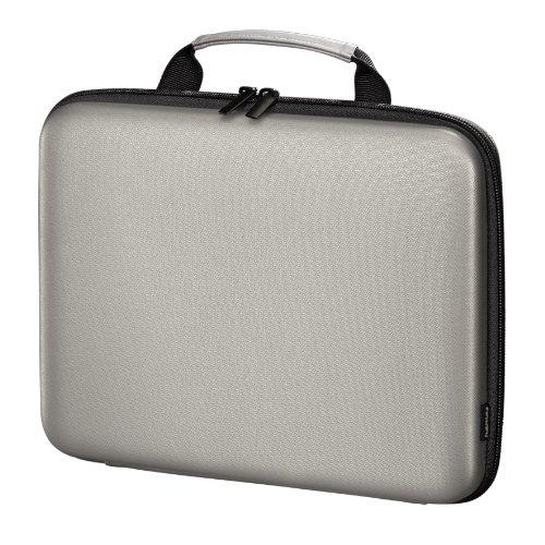 Hama Tech - Custodia rigida per netbook fino a 11,6 , colore: Argento