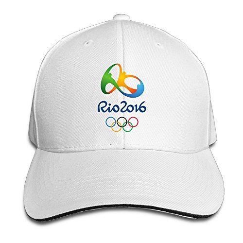 mydt12016Rio de Janeiro Juegos Olímpicos Sandwich al aire última intervensión Gorras de visera Unisex Sombreros