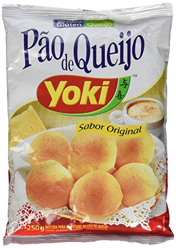 Cheese Bread Mix / Pão de Queijo / Pan de Quejo - Yoki - 8.8oz (200g) (Pack of 4) GLUTEN FREE