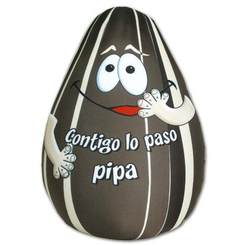 Peluches Con Mensaje - Cojin forma pipa (25cm)