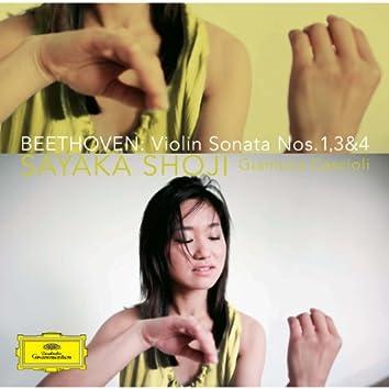 Beethoven:Violin Sonatas Nos.1, 3 & 4 (Beethoven: Violin Sonatas Nos. 1, 3 & 4)