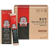 KGC Cheong Kwan Jang Korean Panax Red Ginseng Extract Everytime Royal (10ml x 30 Portable Sticks) / Red Ginseng Body 100%, Ginsenoside 11.6㎎ per 10ml / for Healthy Immune Support and Energy Levels
