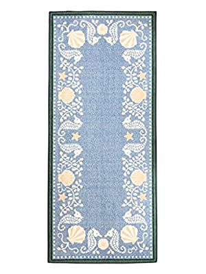 Carpet Runners Runner Rugs Rug Runners Washable Rugs Claire Murray Rugs Beach Shells 2.5ft x 5.75ft