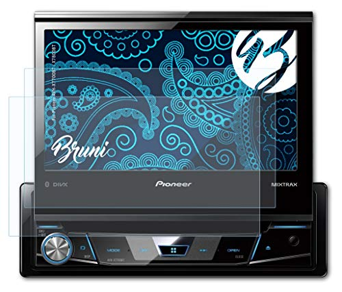 Bruni Película Protectora para Pioneer AVH-X7700BT / X7800BT...