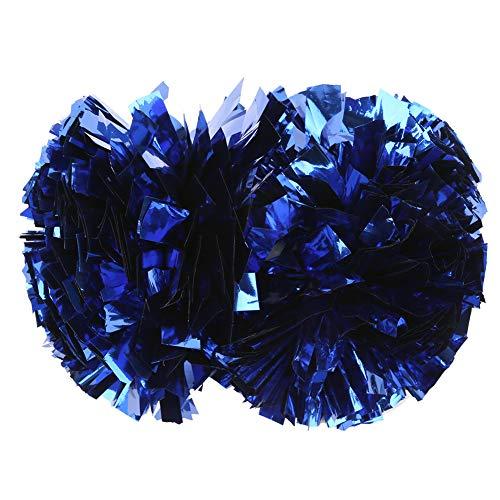 Xinwoer Cheerleader Pompoms Kit Dance Pompoms Metallic Foil Flower Ball...