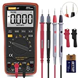 Digital Multimeter,Thsinde Auto-Ranging Digital Multimeter with Alligator Clips, AC Voltage Tester,Voltage...