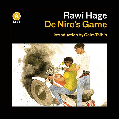 De Niro's Game                   Auteur(s):                                                                                                                                 Rawi Hage,                                                                                        Colm Toibin - introduction                               Narrateur(s):                                                                                                                                 Tony Nash                      Durée: 7 h et 11 min     2 évaluations     Au global 5,0