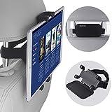 Car Headrest Mount, NEARPOW 360°Rotation Velcro Tablet...